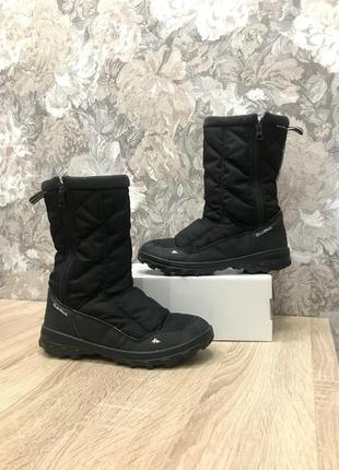 Quechua 36 р водонепроницаемые сапоги чоботи бутсы черевики
