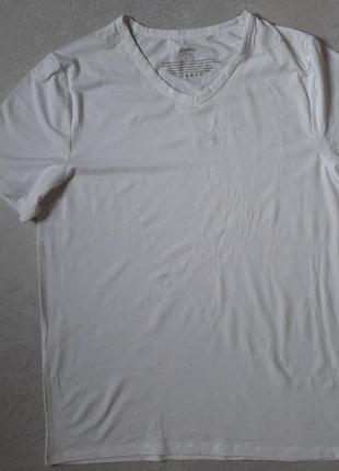 Нательные футболки livergy xl белая