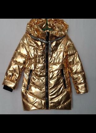 Демисезонные куртки парки для девочек1 фото