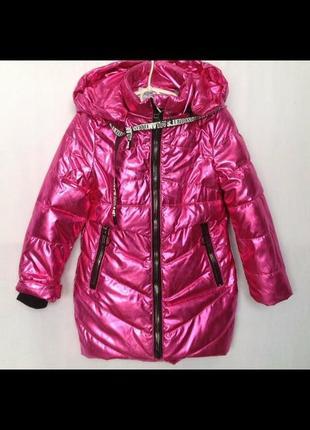 Демисезонные куртки парки для девочек3 фото