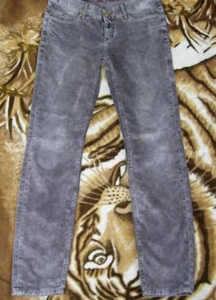 Вельветовые брюки mustang размер m