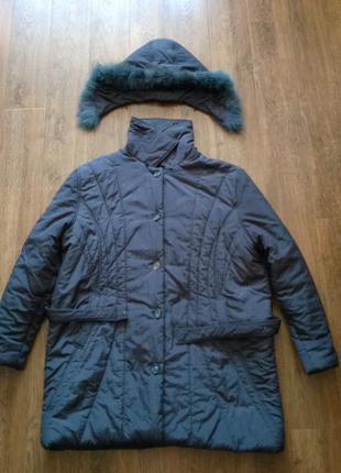 Pronto moda демисезонная длинная куртка для взрослой женщины
