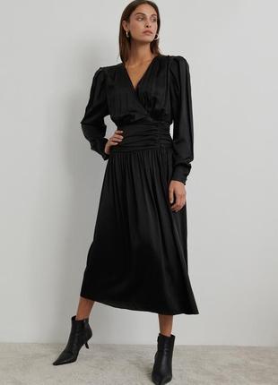 Шикарная чёрная блуза с объемными рукавами и много крутых вещей ❤️❤️🌺🥰
