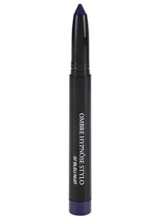 Стойкие кремовые тени-карандаш lancome ombre hypnose stylo 07 bleu nuit