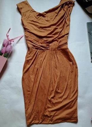 Платье из натуральной ткани, р. 44-46