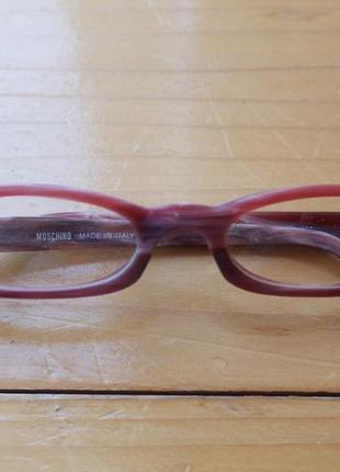 Узкие женские очки оптика для зрения moschino m 3659-v оправа италия