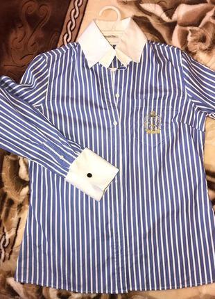 Рубашка женская трендовая massimo dutti