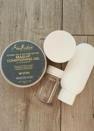 Гель для волос shea moisture braid-up conditioning gel