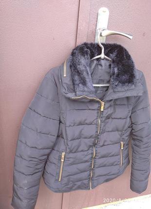 Теплая куртка зара