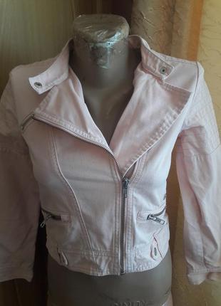 Джинсовка  куртка витрівка