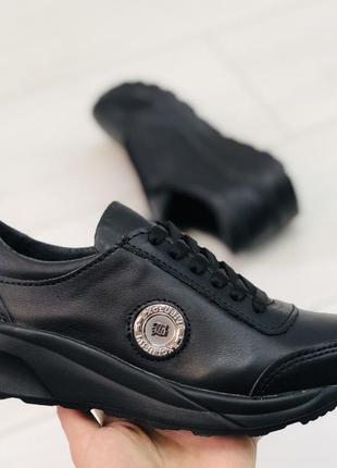 Кожаные кроссовки подростковые 32-40р