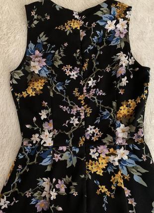 Платье в цветочек6 фото