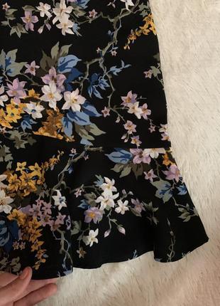 Платье в цветочек7 фото