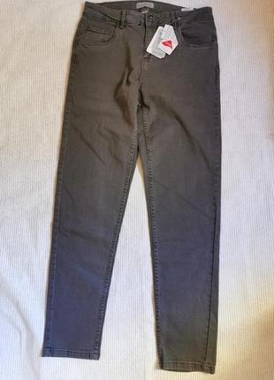 Классические серые джинсы со стрейчем на каждый день германия