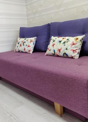 Подушка декоративная цветы акварели