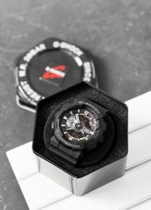 Наручные часы сasio g-shock ga-110 black-silver new