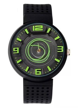 Стильные наручные часы. нержавеющая сталь, силиконовый дышащий ремешок