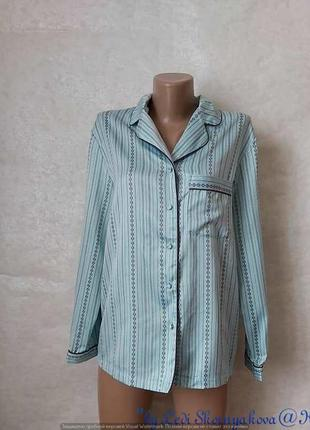 Фирменный george стильный верх от пижамы в нежном мятном цвете в орнамент, размер с-м
