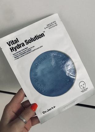 Маска dr. jart vital hydra solution