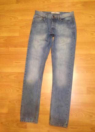 Актуальные мужские джинсы скини topman