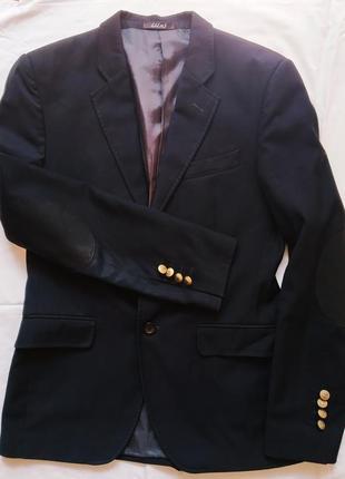 Чёрный школьный пиджак lilus
