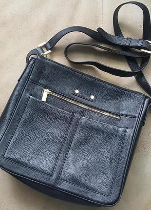 Кожаная,стильная,женская сумка ручной работы