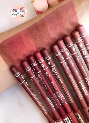 Олівці для губ triumph of color карандаш