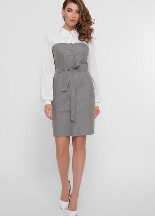 Женское платье в офисном стиле