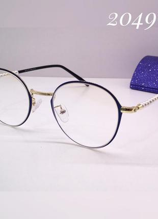 Женские компьютерные очки, оправа для установки линз