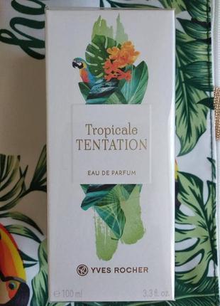 Парфумована вода tropicale tentation екзотика тропічного раю