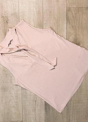 """Очень нежная блуза майка в рубчик """"redhering"""""""