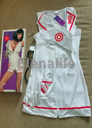 Эротический костюм медсестры emergency obsessive