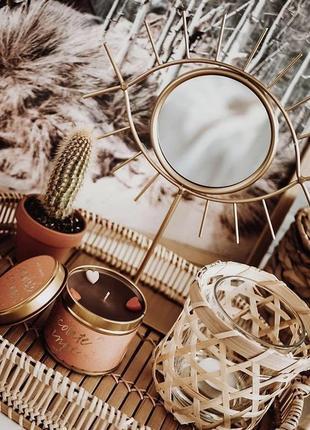 Зеркало-  глаз 21*25 см очень красивое