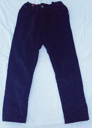 Вельветовые брюки на флисе подростку