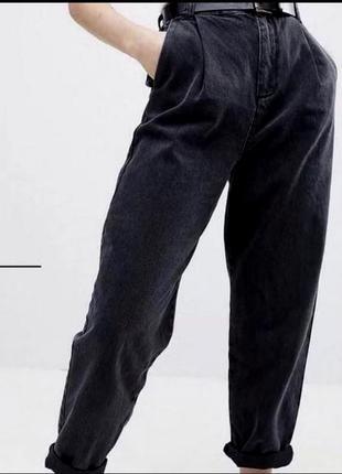 Чёрные джинсы бананы слоучи/цвета/супер цена 🔥