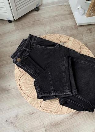 Чёрные джинсы бананы слоучи/цвета/супер цена 🔥8 фото