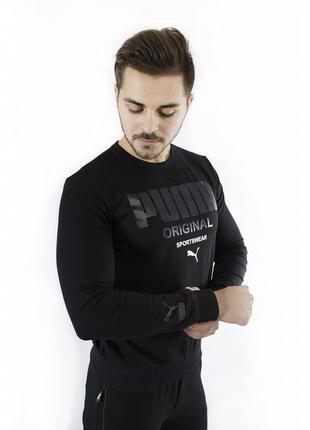 Мужской свитшот puma original черный