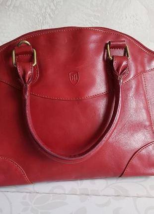 Италия. сумка avola из итальянской кожи tumble & hide 8116_thv