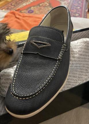 Туфли хайтопы мужские кожа