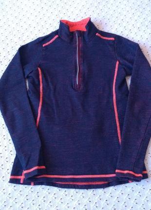 Термо кофта шерсть мериноса термобелье поддева шерстяная для спорта термобілизна