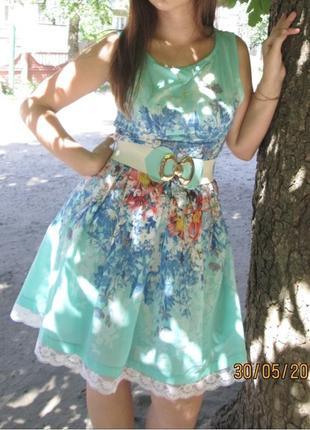 Платье лёгкое, летнее, яркое!