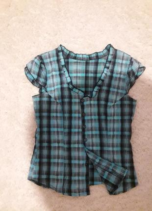 Блузка  рубашка школьная