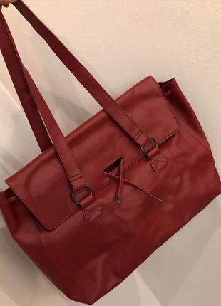 Новая сумка шопер французского бренда danie hechter