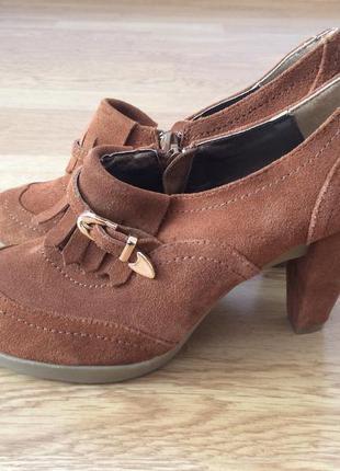 Новые кожаные туфли pier one германия
