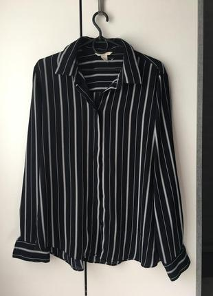 Рубашка блуза в полоску