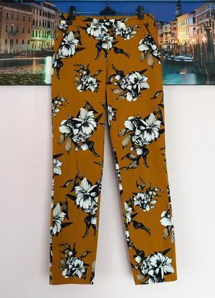 Брючки, брюки в цветы