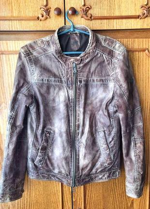 Кожаная шкіряна куртка gipsy tigha