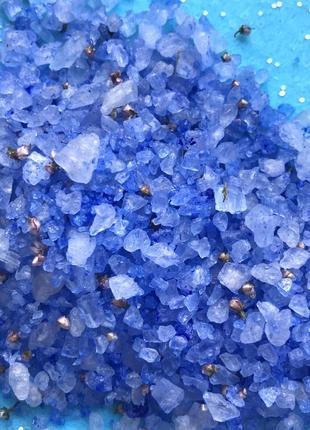 Соль для ванн с лавандой и эвкалиптом