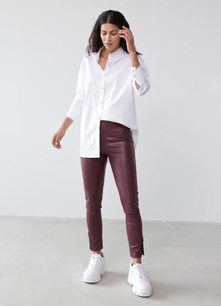 Лосины кожаные, кожаные штаны2 фото
