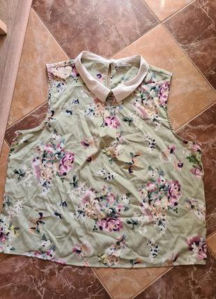Блуза в красивый принт